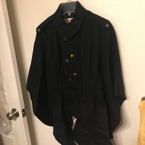 Juicy Couture Wool cape coat